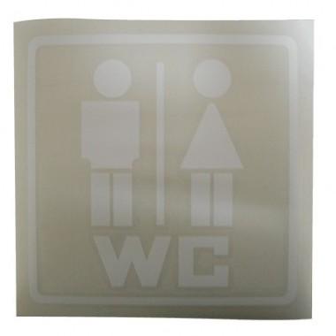 Picto Blanc Toilettes