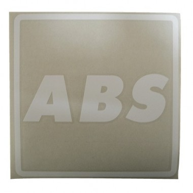 Picto Blanc ABS