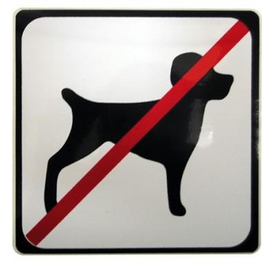 Symbole chien interdit