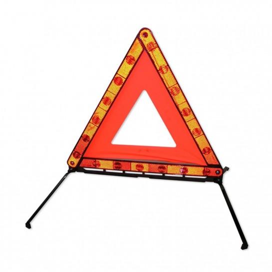 Triangle de signalisation pliable