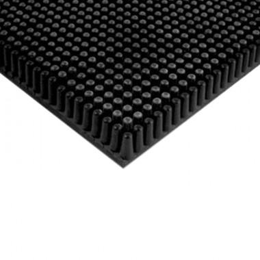 Tapis picot caoutchouc noir 11mm
