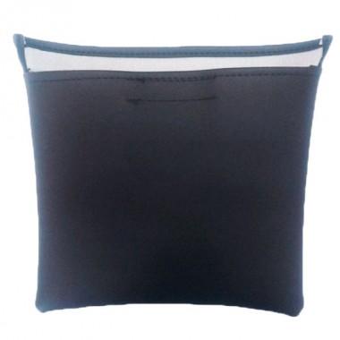 Housse noire 400 x 400 mm