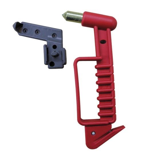 Marteau coupe-ceinture avec support
