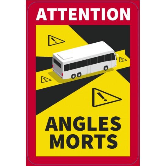 ANGLES MORTS AUTOCARS