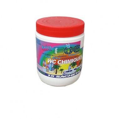 Additif WC chimique 15 sachets